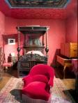 Hugo's very red boudoir